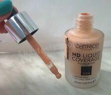 CATRICE Liquid Coverage Foundation 24h/ Mattifying Second Skin 020 Rose Beige