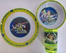 ~ Toy Story - BUZZ DINNER LUNCH BOYS KIDS FEEDING SET MEALS Bowl Cup *Sale*