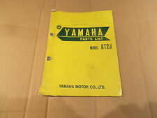 YAMAHA AT2 J GENUINE PARTS LIST MANUAL
