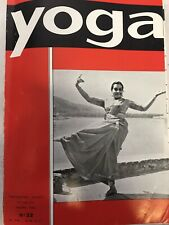 La revue YOGA Mars 1966 N 32 Prestige Print Bruxelles