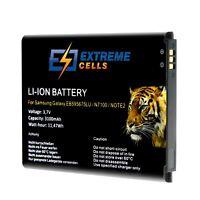 Extremecells Akku Samsung Galaxy Note 2 II GT-N7100 EB595675LU Battery Batterie