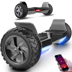8.5'' Hoverboard All Terrain Hummer Self Balancing Offroad Bluetooth Segway
