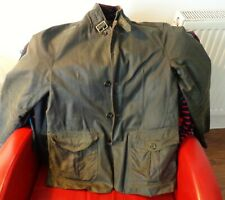 BARBOUR WAX JACKET SIZE SMALL - SKY FALL- VG.