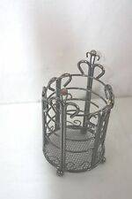 Utensil Holder Metal Venetian Bronze Reflections Anchor  NWT NEW