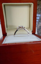 Engagement Unbranded White Gold Fine Rings without Stones