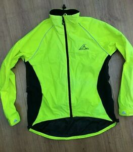 Altura Cycling Jacket High Vis Viz Yellow Medium Mens
