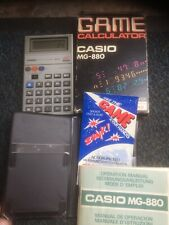 CASIO MG-880 CALCULATOR Boxed Mint Complete