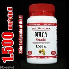 ENVIO URGENTE: MACA Andina  Dra.Bannister 1500mg/60c. Sólo 1 cáp/día!