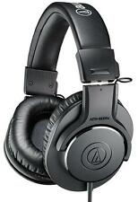 ATH-M20X Audio Technica Headphones , Pro Studio Monitor Black