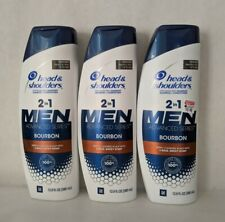 Head & Shoulders Men 2-in-1 Shampoo & Conditioner - 12.8 fl oz X 3 [3 Varieties]