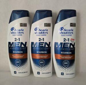 Head & Shoulders Men 2-in-1 Shampoo & Conditioner - 12.8 fl oz X 3 [3 Varieties]
