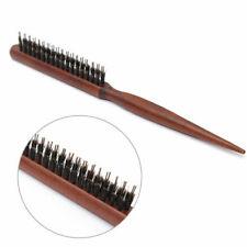 Peigne A Cheveux Bois Brosse Lisseur Poils De Coiffeur Salon Hair Comb Sanglier