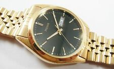 Pulsar by Seiko Gold Tone Stainless Steel V733-8A18 Sample Watch NON-WORKING