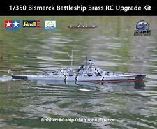 1/350 Bismarck Battleship Brass RC Upgrade Kit