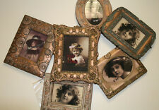 SIX FRAME PICTURE FRAME COLLAGE IN BRONZE FOR HOME & OFFICE DECOR