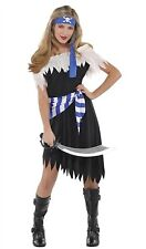 Costumes USA Shipwrecked Cutie 530 Black/Blue Youth Large