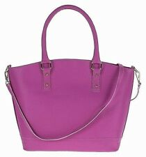 Genuine leather woman handbag tote shoulder bag hobo.Made in Italy.PINK