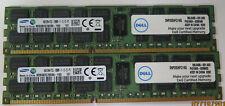 2 X DELL SNP20D6FC/16G 16GB 2Rx4 PC3L-12800R Server MEMORY32G DDR3 1600Mhz