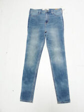 Stonewashed Regular Jeans High Jeggings, Stretch for Women