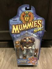 1997 Kenner Mummies Alive Fighting Armon Factory Sealed Card