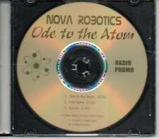 (AK720) Nova Robotics, Ode to the Atom - DJ CD