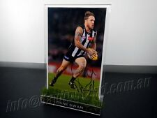 ✺Signed✺ DANE SWAN Photo & Frame PROOF Collingwood Magpies 2010 2017 Guernsey
