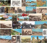 Kent Rare Vintage Postcards - Canterbury, Folkestone, Dover etc - Pick yours.