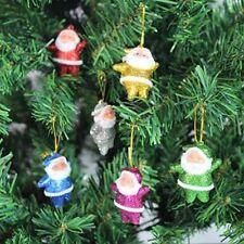 LC _ por ejemplo _ 6 Piezas Navidad Árbol de Decoración papá noel Muñeca