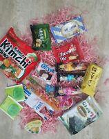 ♡ ASIAN SNACK BOX - 15pc ♡ Japanese & Korean Snacks, Candy & Tea Assortments