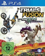 Trials FUSION- The Awesome Max Edition PS4 PlayStation 4 NUOVO + conf. orig.