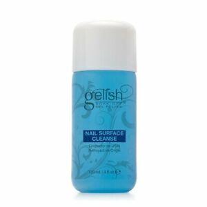 Gelish Nail Soak Off Surface Gel UV Top Coat Cleanser Bottle 120mL (4 fl oz)