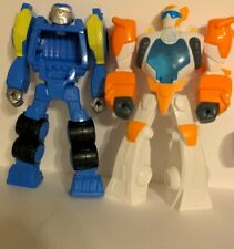 """Transformers Rescue Bots Lot of 2 12"""" Figure  Hasbro, GUC It'sOnly2Ninety-Nine"""