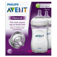 Avent Natural Feeding Bottle 260ML 2 Pack