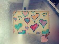 Vintage dooney and bourke wallet Scribbled Hearts