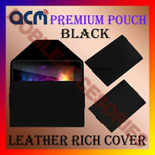 ACM-PREMIUM POUCH CASE BLACK for BSNL PENTA 83AAQ1 TABLET COVER