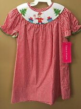 Girls 24 Months Boutique Elf Hand Smocked Dress NEW NWT Christmas Claire Charlie