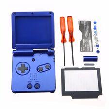 Blau Gehäuse Case Cover Sell Volle Teile Kit für Nintendo Gameboy Advance GAB SP