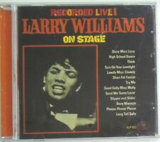 LARRY WILLIAMS - CD - On Stage - Greatest Hits - BRAND NEW