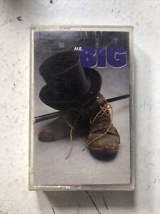 Mr. Big Self Titled Cassette 1989