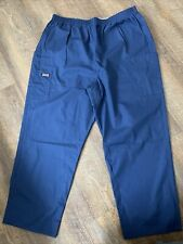 Cherokee Style 4200P Scrub Pants Extra Large Xl Navy Blue Excellent Condition