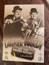 Laurel And Hardy: All The Wrong Notes! Collection Box Set   Brand new and sealed