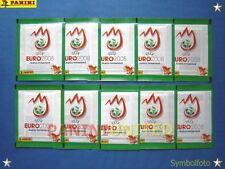 Panini★EURO 2008 EM 08★ 10x grüne Tüten/packets/bustine/pochettes - sealed