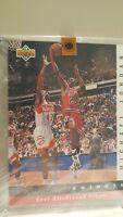 1992 Upper Deck Jerry West Selects #JW8 Michael Jordan 10 x 12 Limited Edition