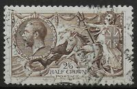 SG413a. 2s6d.Olive-Brown.  Fine Used. Very Good Perfs & Well Centred.  Ref:072