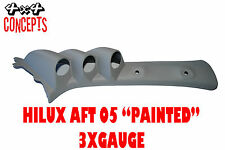 """to suit Toyota Hilux aft 05 TRIPLE PILLAR POD """"NEW"""" NOT PAINTED Black 52mm"""