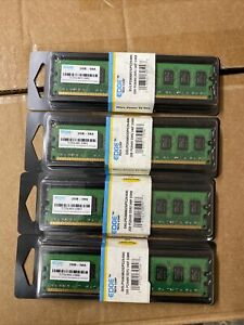 Edge Tech Corp Dimm, Lot Of 4 Packs