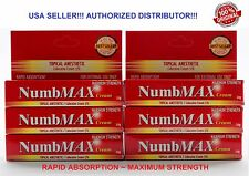 6 NumbMAX Topical Anesthetic Speed Numbing Cream for Tattoo 10g Maximum Strength