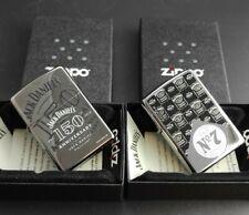 Zippo JACK DANIELS 2er Set: JD 150th Anniversary  + Zippo JD Label Old No. 7