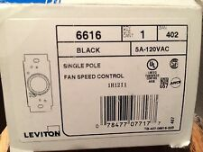 Leviton Fan Speed Control