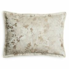 Hudson Park Pietra KING Pillow Sham CHAMPAGNE GOLD IVORY Bedding $130 NEW